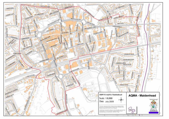 AQMA Details Defra UK – Map Smokeless Zones Uk